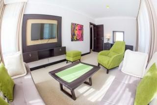 Pokój Deluxe  z balkonem i osobną sypialnią