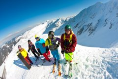 Dzieci na nartach Chopok