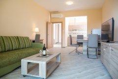 Apartament Superior z osobną sypialnią tarasem i widokiem na morze