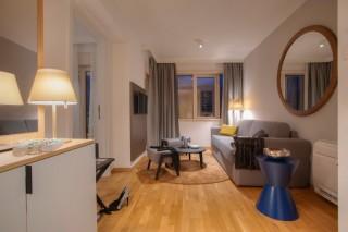 Pokój Deluxe z balkonem i widokiem na miasto