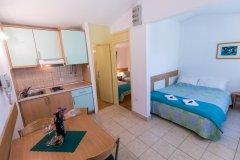 Apartament z dwoma sypialniami i balkonem 4 osobowy
