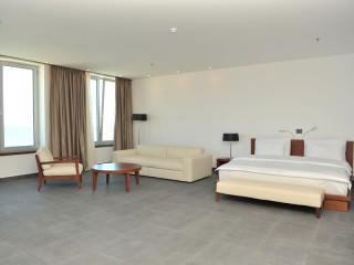 Lux Apartament z 1 sypialnią - widok morze