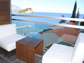 Pokój Standard z balkonem widok morze